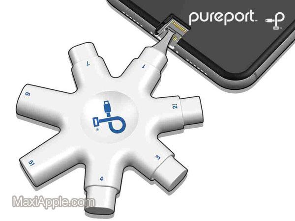 pureport kit nettoyage iphone lightning ecouteurs airpods 04 - PurePort, Mini Kit de Nettoyage pour iPhone et AirPods (video)