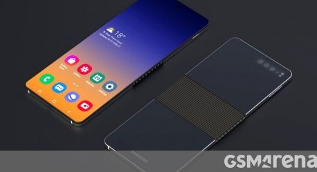 Samsung's next foldable smartphone will be a clamshell