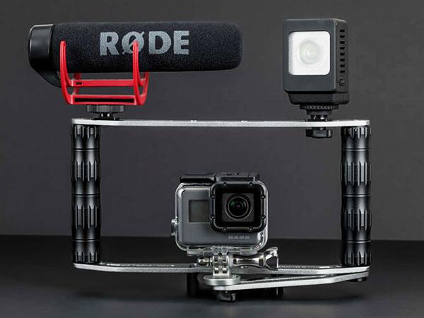 sandmarc film rig stabilisateur iphone smartphone maxiapple 04 - SandMarc Film Rig, Stabilisateur iPhone pour Réalisateur (video)