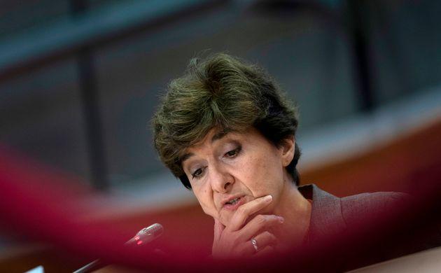 Auditionnée une deuxième fois ce jeudi au Parlement européen, Sylvie Goulard n'a...