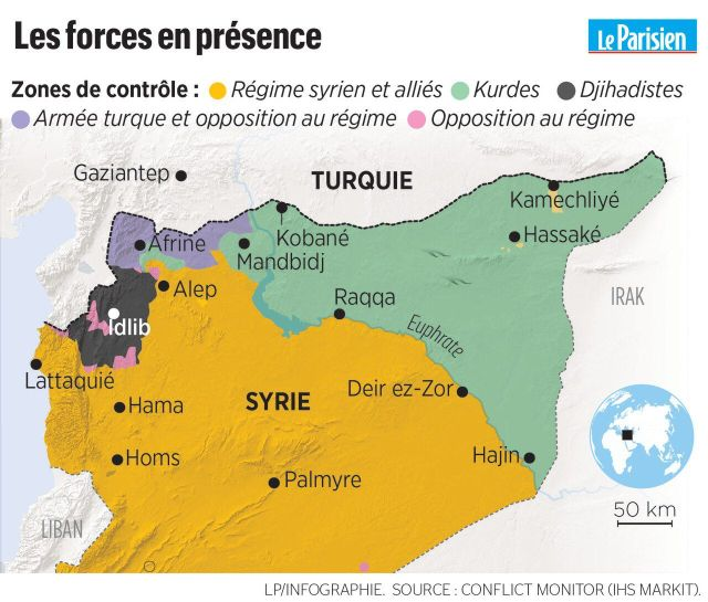 Syrie : comprendre en cinq minutes l'alliance surprise entre Assad et les Kurdes