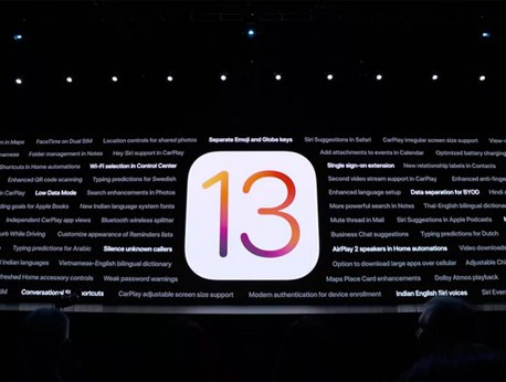 Un iPhone sur deux fonctionne déjà avec iOS 13
