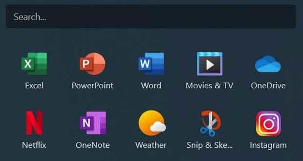 Nouvelles icones Fluent Design de Windows 10