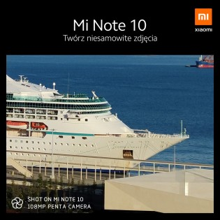 Xiaomi Mi Note 10 zoom capabilities