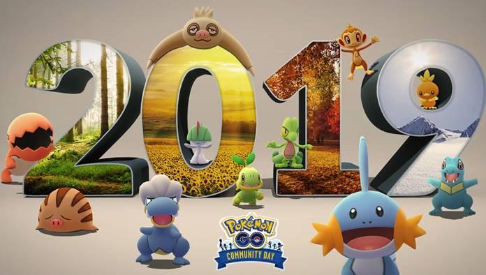Pokemon GO Community Day 2019