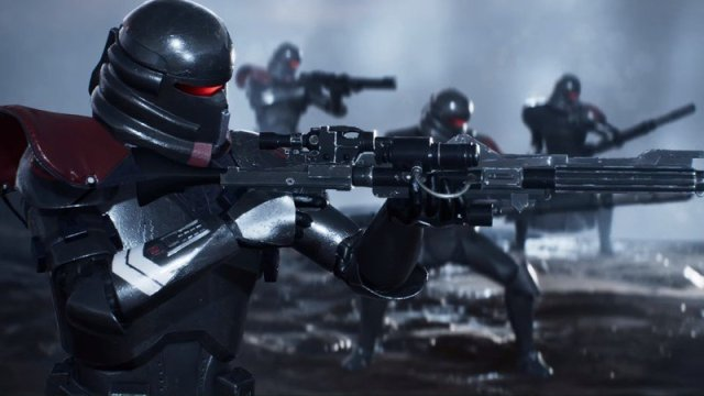 A Purge Trooper Commander in Star Wars Jedi: Fallen Order.