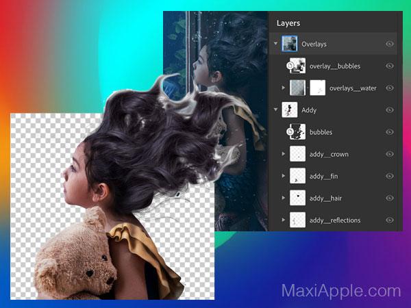 adobe photoshop iphone ipad gratuit 02 - Adobe Photoshop Original Dispo sur iPad Pro (video)