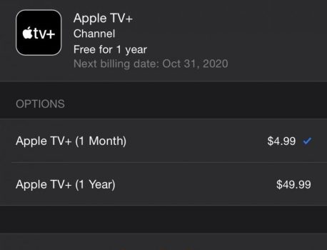 Apple TV+ Launches With New $49.99 Annual Subscription Option, Save $10 Per Year