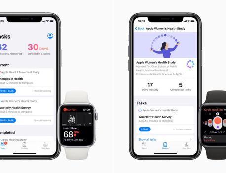 Après le cœur, Apple lance trois nouvelles études de santé aux États-Unis