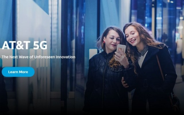 AT&T will officially launch its commercial 5G network next month