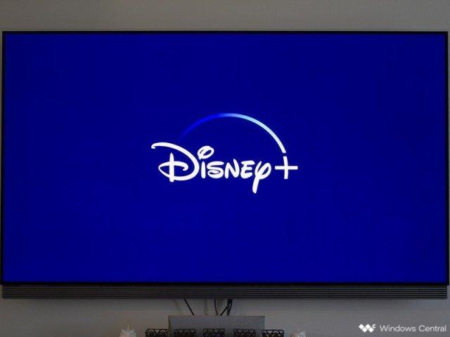Disney+ on an LG OLED TV