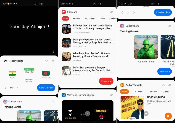 Bixby Home turns into Samsung Daily on Android 10 beta - www