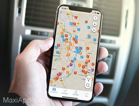 ChargeMap iPhone – Bornes de Recharge pour Voitures Electriques (gratuit)