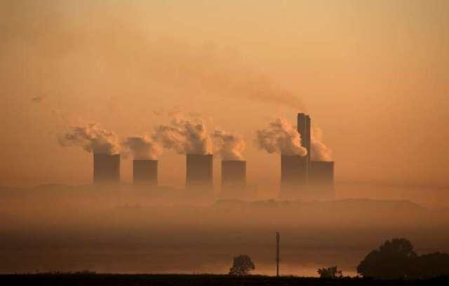Une centrale à charbon en Afrique du Sud, en 2016.
