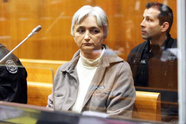 Monique Olivier à l'ouverture de son procès en mai 2008 à Charleville-Mézières (Ardennes)./LP/Olivier Lejeune