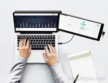 Duex Ajoute un 2e Ecran au MacBook Pro 13 et 16 (video)
