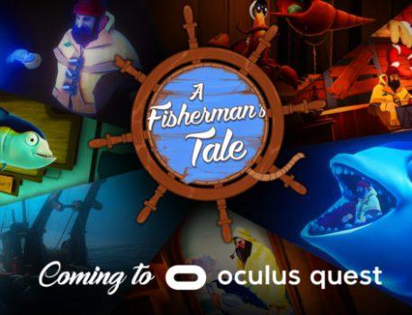 Élu jeu VR de l'année, A Fisherman's Tale arrive sur Oculus Quest