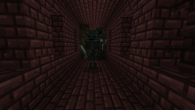Wither skeletons and soul sand