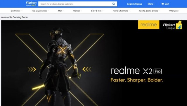 Flipakrt confirms Realme 5s is coming soon