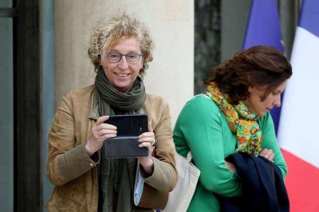 La ministre du travail Muriel Pénicaud (ici à gauche, à l'Elysée, le 30 octobre 2019) présentera jeudi 21 novembre l'application mobile et le site internet« Moncompteformation».