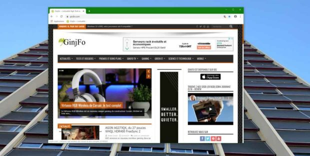 Navigateur Chrome 78 de Google