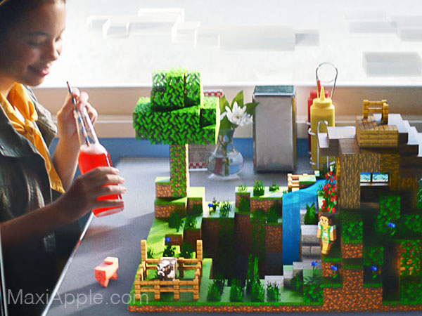 mojang jeu minecraft earth iphone ipad ios 05 - Jeu Minecraft Earth iPhone iPad en Réalité Augmentée Dispo (gratuit)