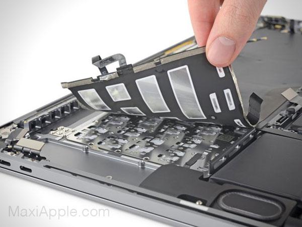 demonter macbook pro 16 2019 ifixit clavier 4 - MacBook Pro 16, Impossible à Démonter et à Faire Evoluer (video)