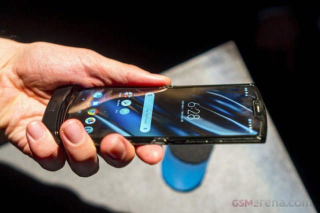 Motorola Razr hands-on