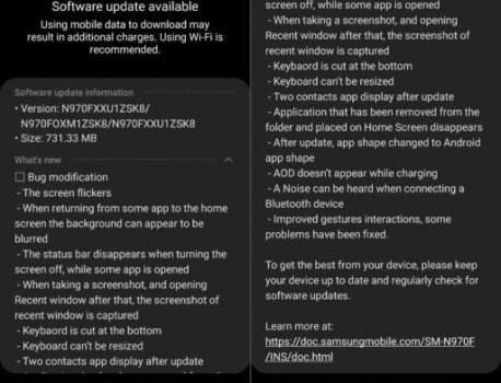 New Galaxy Note 10 Android 10 beta update rolling out now