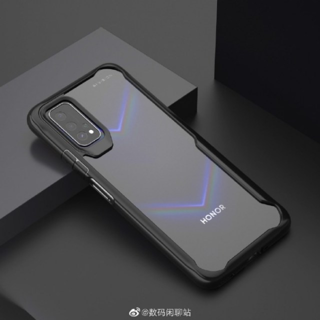 New Honor V30 case render gives us a clear look of the back design