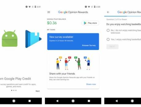 People report losing Google Opinion Rewards without warning