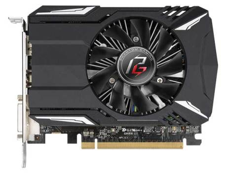 Phantom Gaming Radeon 550 2G, ASRock vise l'entrée de gamme
