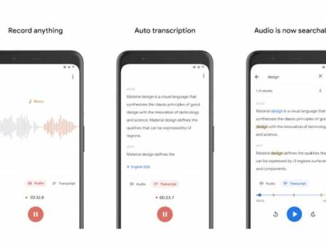 Pixel 4's Recorder app will be available for older Pixel devices