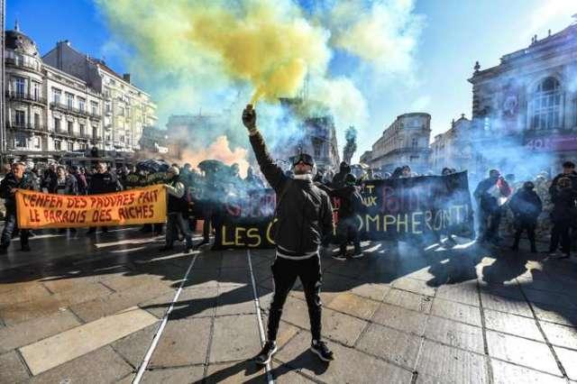 L'un des derniers« actes» des« gilets jaunes», le 9 novembre à Montpellier