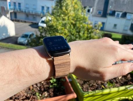 Prise en main du WeWood TRIFT, un bracelet pour AppleWatch en bois