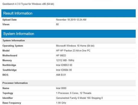 Processeurs Intel 6 et 10 cœurs Comet Lake-S, premiers scores de performances, bilan