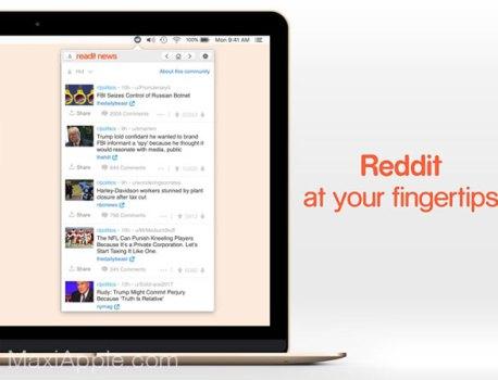 Readit News Mac – Indispensable Client Reddit (gratuit)