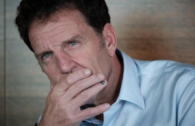 Pour Geoffroy Roux de Bézieux, le sujet de la réforme des retraites est « anxiogène par essence »./LP / Arnaud Dumontier