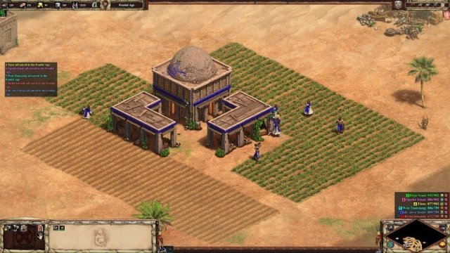 AoEII:DE with Enhanced Graphics pack enabled