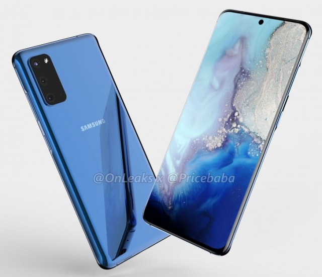 Here's what the Galaxy S11e could look like