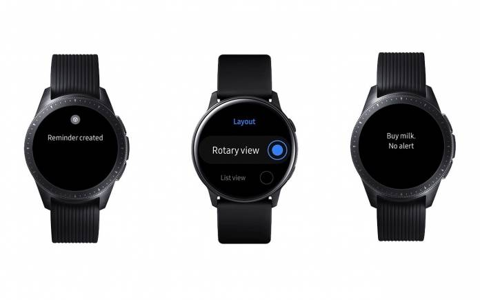 Galaxy Watch One UI Update