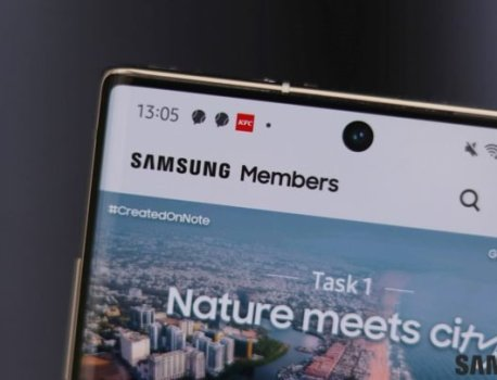 Samsung Members app to get Night mode support next year