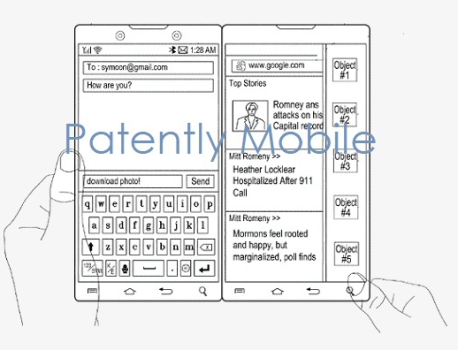 Samsung secures old patent for Surface-like dual-screen foldable phone