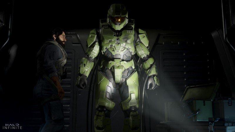 Master Chief during the Halo Infinite E3 2019 trailer.