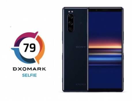 Sony Xperia 5 selfie camera analyzed by DxOMark