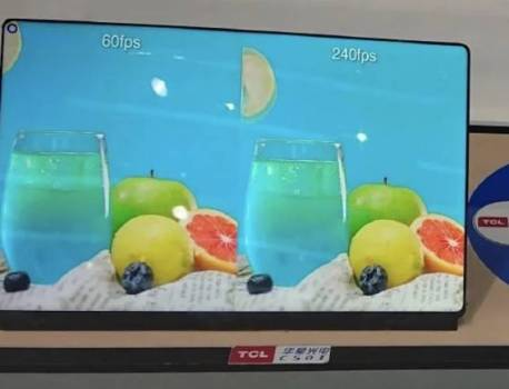 TCL WQ tablet display with punch hole, 240Hz refresh rate leaked