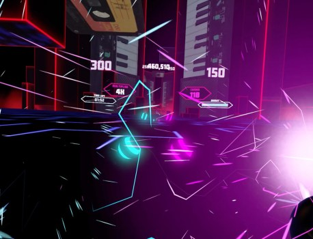 TEST Synth Riders sur Oculus Quest