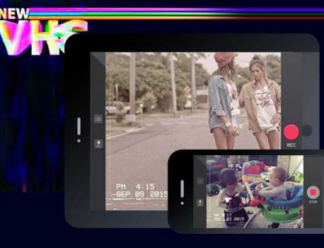VHS Camcorder iPhone iPad – Effets Video Rétro Années 80-90 (gratuit)