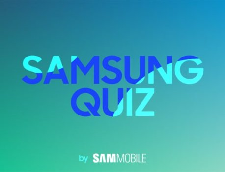 Weekly SamMobile Quiz – Come test your Samsung knowledge!