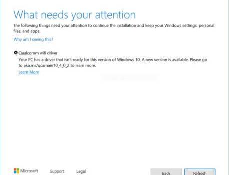 Windows 10, un problème de compatibilité oblige Microsoft à bloquer certaines mises à niveau